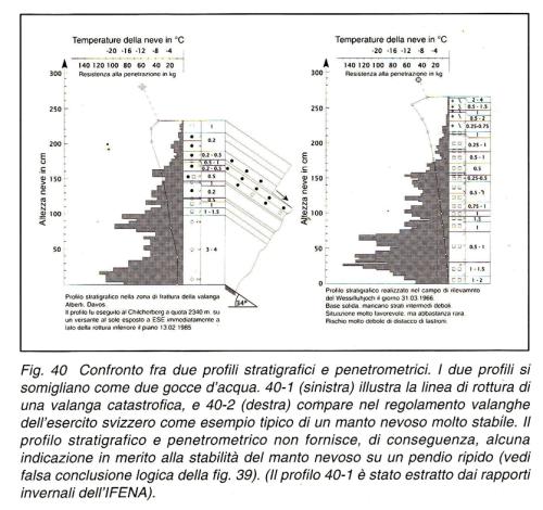 Interpretazione dei profili stratigrafici